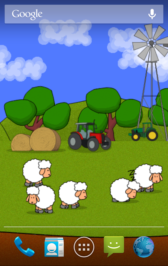 Sheep! Live Wallpaper - screenshot