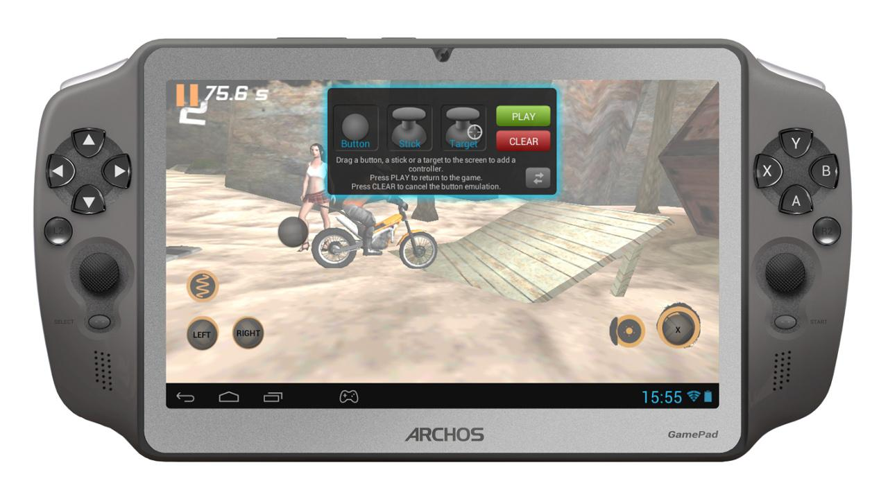 Archos Mapping Tool (GamePad) - screenshot
