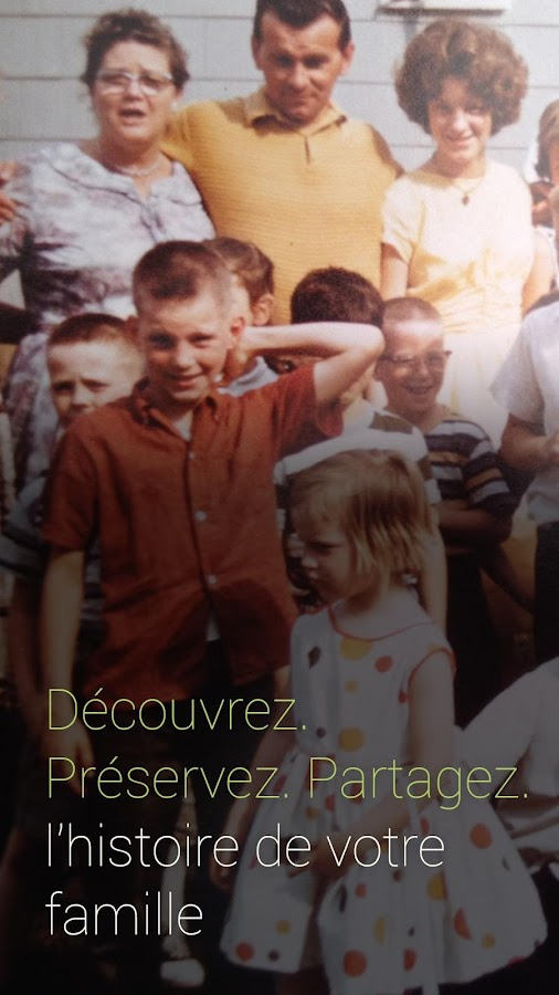 MyHeritage – Capture d'écran