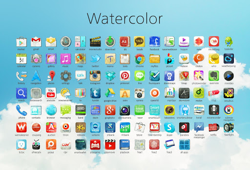 Watercolor Iconpack
