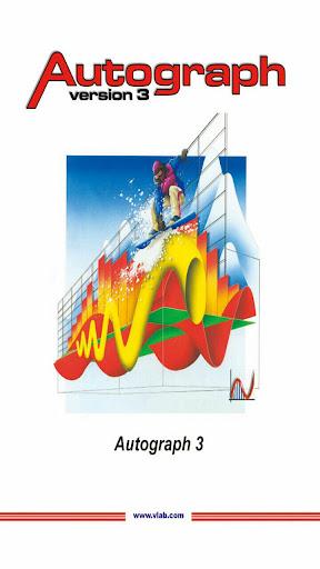 Autograph V3 Manual