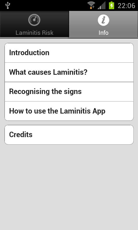 Laminitis- screenshot
