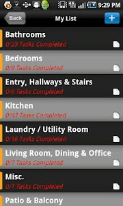 HOUSE CLEANING PLANNER screenshot 0