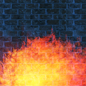Flames Live Wallpaper Pro icon