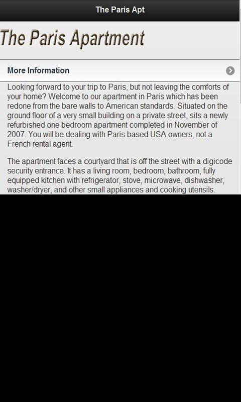 Paris Apartment- screenshot