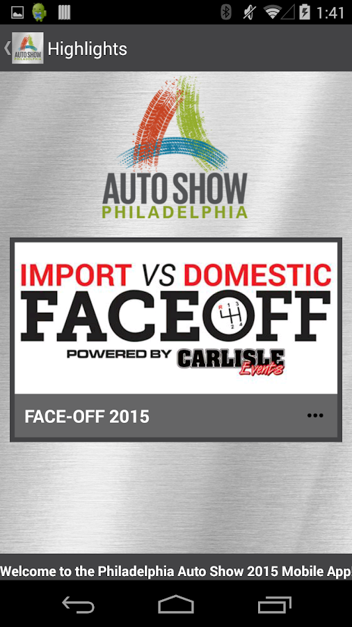 Philadelphia Auto Show 2015- screenshot