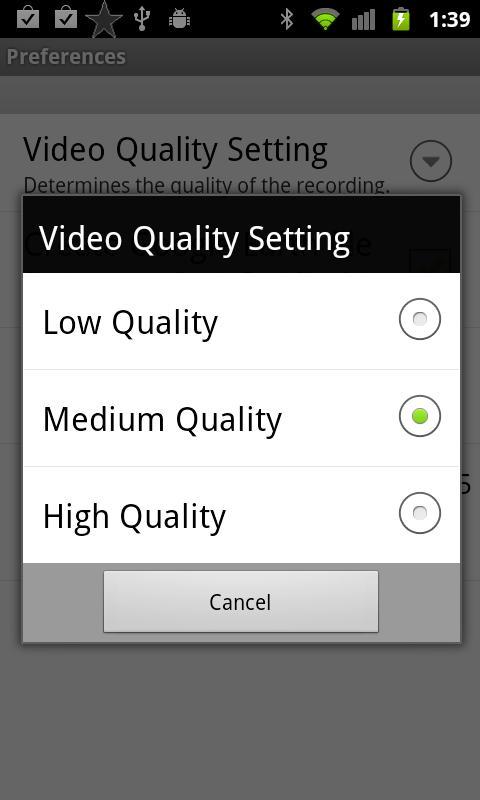 Car Dash Video Recorder +- screenshot
