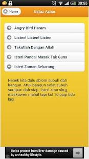 Lawak Ustaz Azhar - screenshot thumbnail