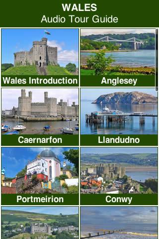Wales Audio Tour Guide