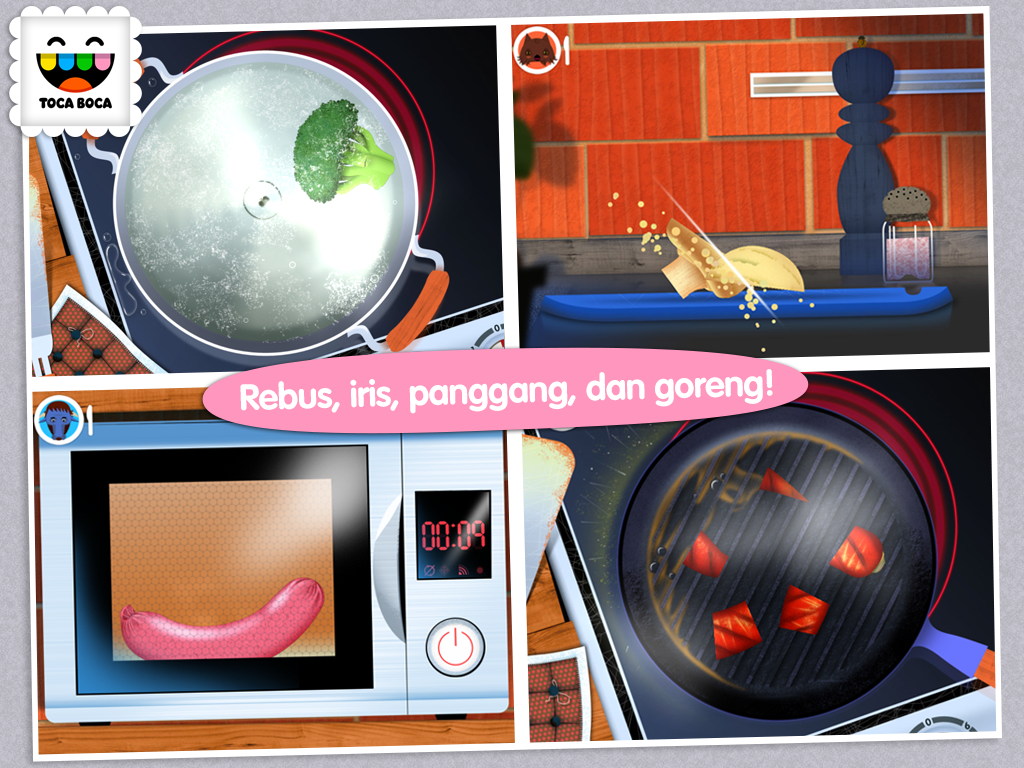 Toca Kitchen Apl Android Di Google Play