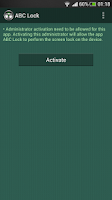 Screenshot of ABC Lock