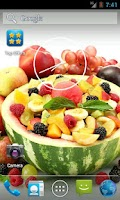Screenshot of Fruit live wallpaper HD 2