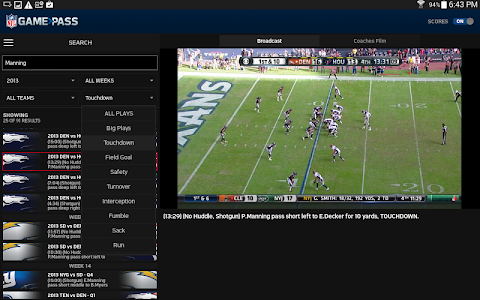 NFL Game Pass screenshot 8