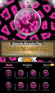 Leopard theme for GO Locker- screenshot thumbnail