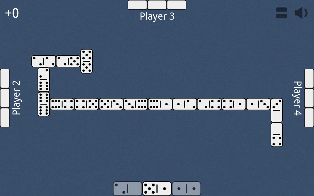 Dominoes- screenshot