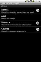 Screenshot of SpeedCam Detector FREE