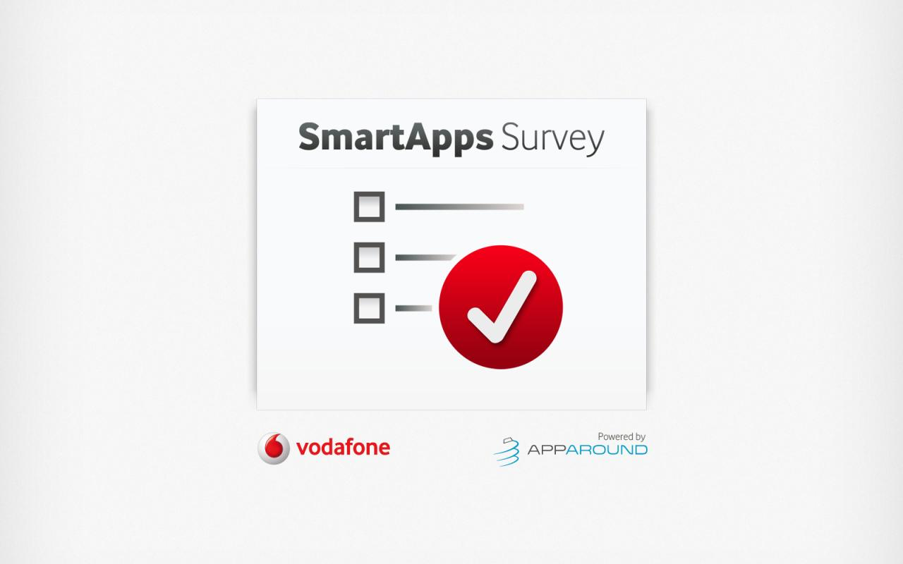 Vodafone Survey - screenshot