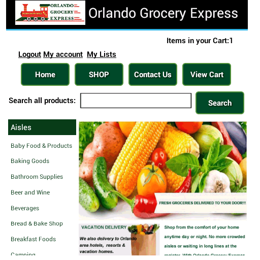 Orlando Grocery Express