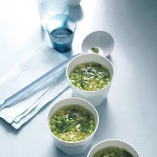 Pea, Lemon, and Egg-Drop Soup