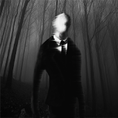 Slender Man! Live Wallpaper