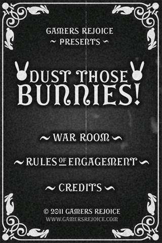 Dust Those Bunnies