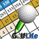 GolfLife – Golf GPS score card logo