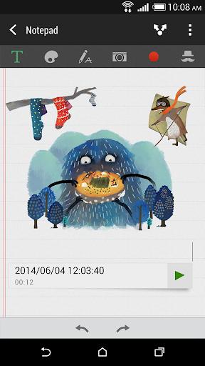 玩生產應用App HTC 走り書き免費 APP試玩