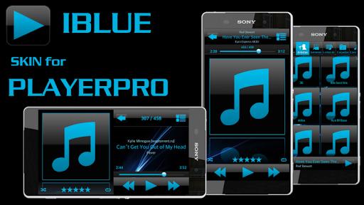 PlayerPro Skin I BLUE