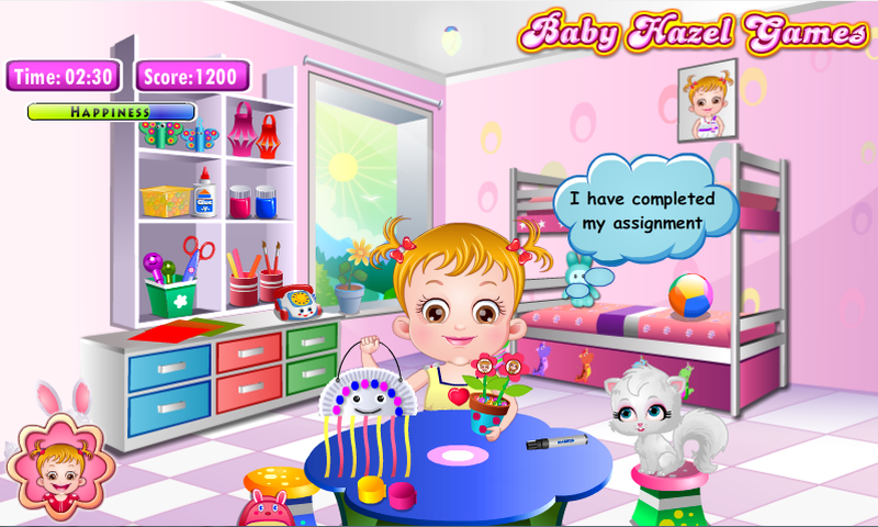 Baby Hazel Craft Time- screenshot