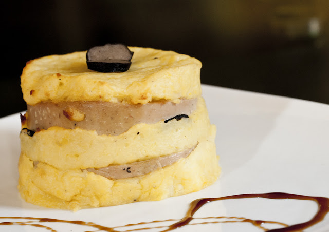 Potato and Duck Liver Truffle Mousse Parfaits Recipe