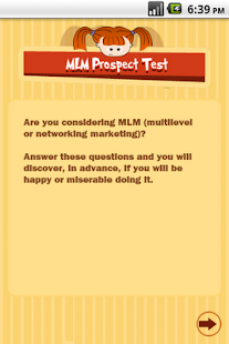 MLM Prospect Test - screenshot thumbnail
