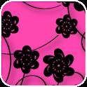 Floral Print Pink Theme icon