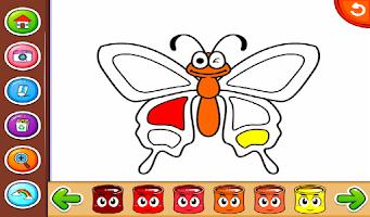 Screenshot of Marbel Coloring Books