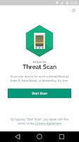 Screenshot of Threat Scan