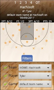 Basketball Shot Chart- screenshot thumbnail