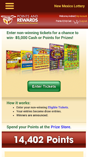 NM Lottery Official App