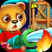 Superhero Bear - Fire Rescue!