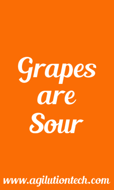 Grapes Are Sour - screenshot