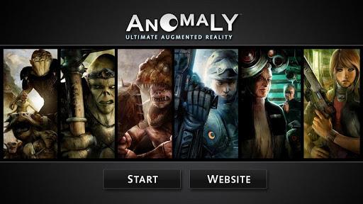 Anomaly UAR