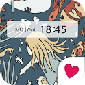 Cute wallpaper★Water World icon