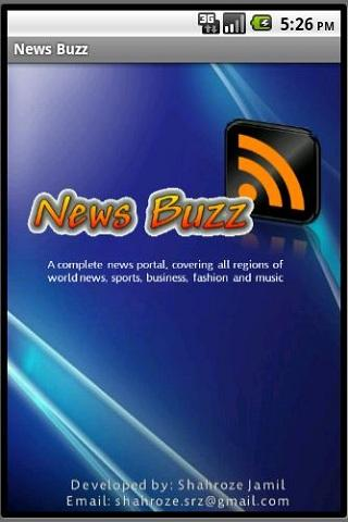 News Buzz - screenshot