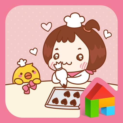 꽁지(발렌타인데이) 도돌런처 테마 個人化 App LOGO-APP試玩