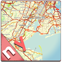 New York State Offline Map icon