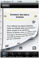 Screenshot of Trucs de Grand-Mère