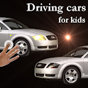 Cars for kids, driving cars icon