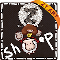 SheepZ Theme GO Launcher EX logo