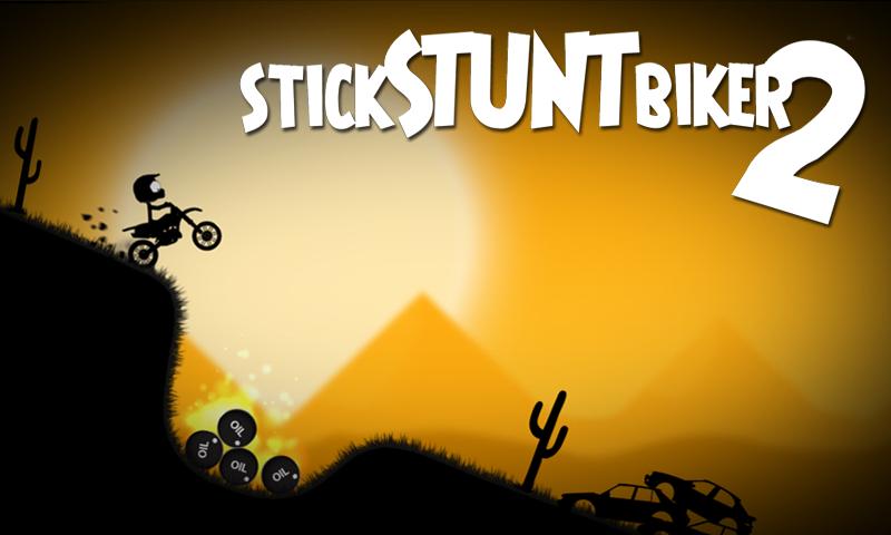 Stick Stunt Biker 2 screenshot #1
