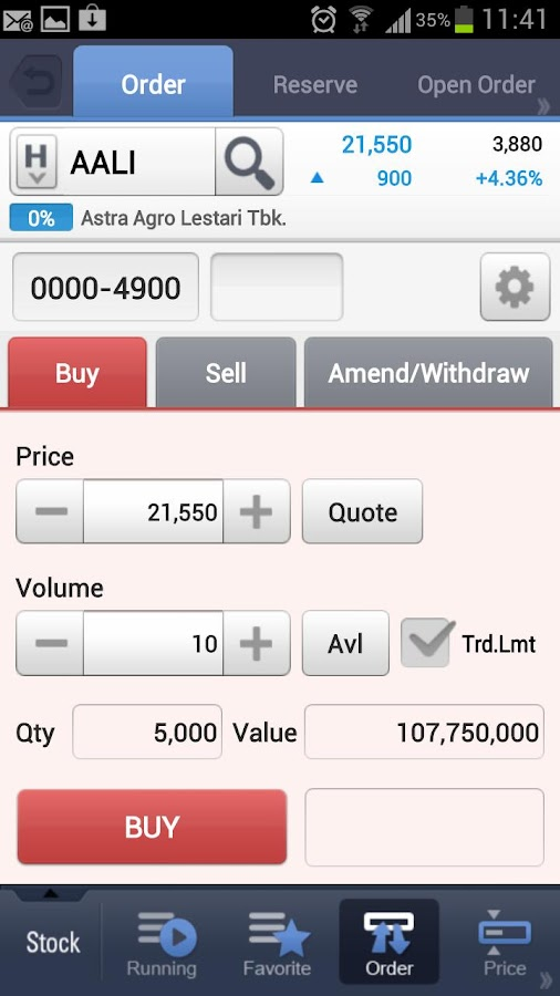 KIWOOM HERO Smart Trading - screenshot