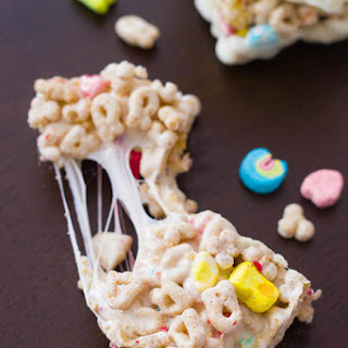 White Chocolate Lucky Charms Treats