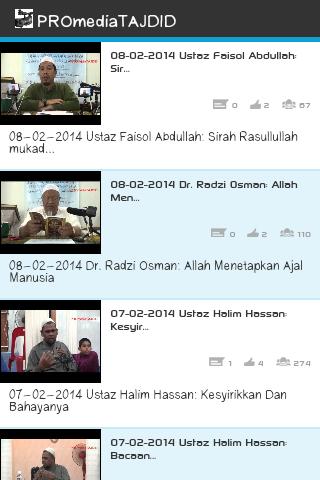 Video Rakaman PROmediaTAJDID